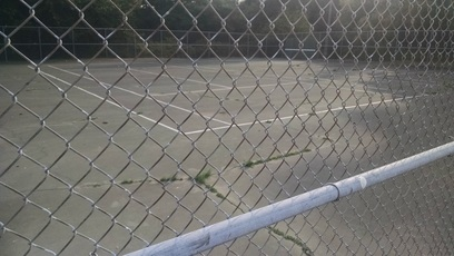 Abandoned courts of tennis hockey history